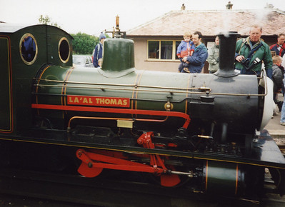 "Bonnie Dundee post 1996 rebuilt, as ""La'al Thomas""."