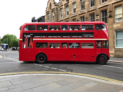 The Red Bus in Glasgow