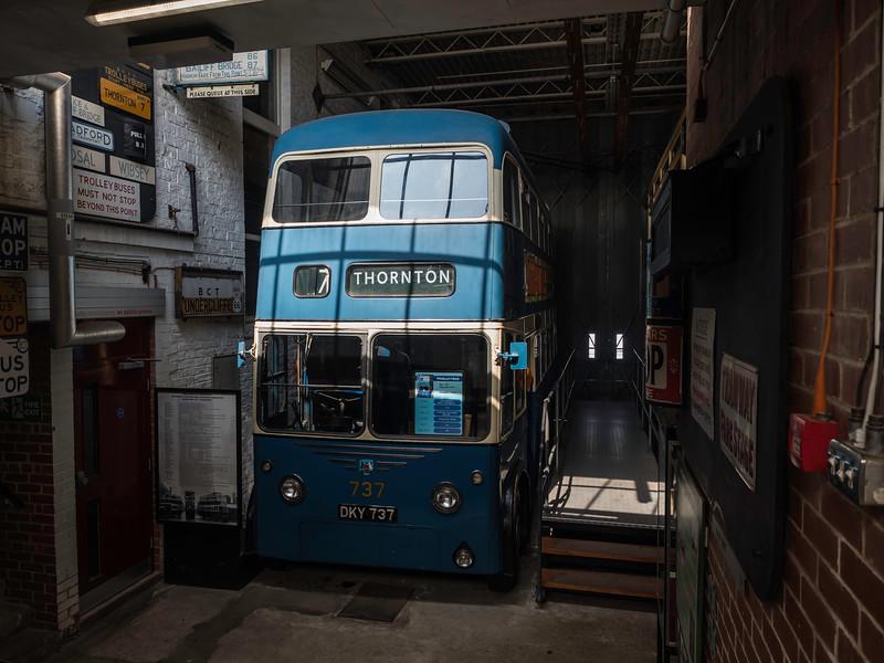 Bradford Trolleybus 737
