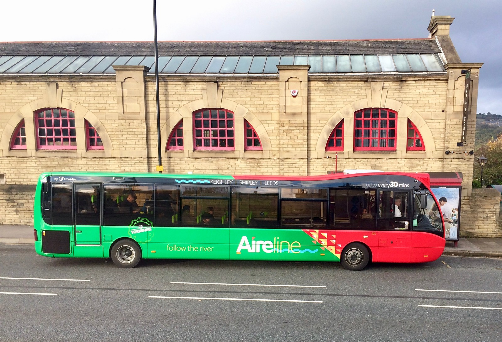 Keighley Bus at Saltaire