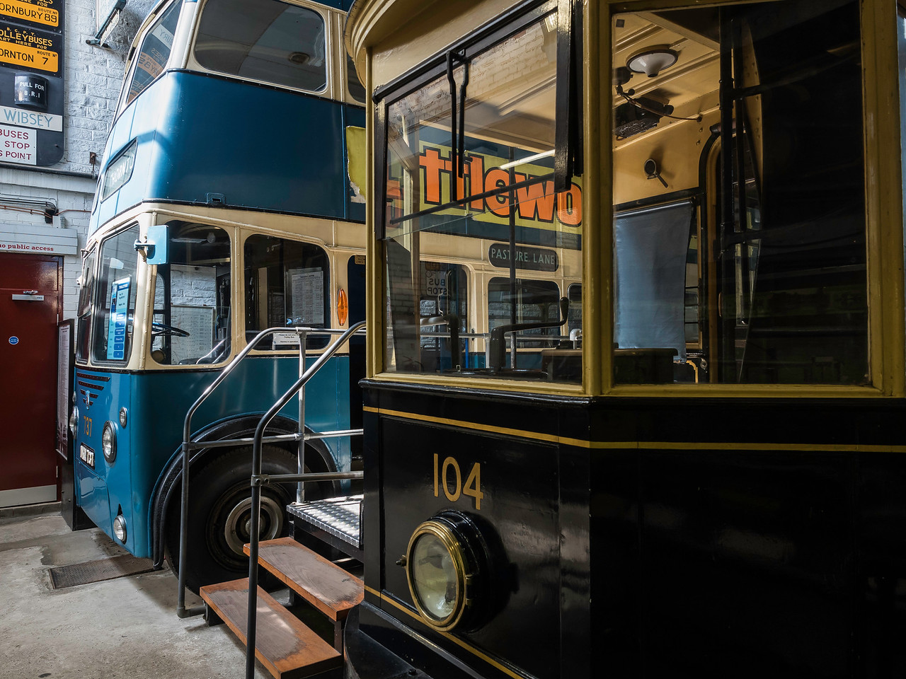 Tram and Trolley