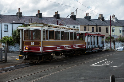 Manx Electric Railway at Ramsay