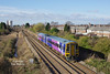 158817 forms the 2C18 08:55 Doncaster - Hull as it passes Goole on Thursday 9th March 2017.