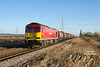 60019 approaches Broomfleet on the afternoon of January 2nd 2017 with the 6J94 12:25 Hedon Road Sidings - Rotherham Masborough steel hoods.<br /> Luck has been on my side over the last couple of weeks as far as this working has been concerned, as it has ran on a number of occasions with a combination of class 60's, sunlight, and the Christmas holiday allowing photography at otherwise impossible locations whilst being required to work.