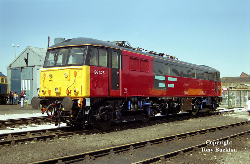 86426 Doncaster Works Open Day, July 12th 1992.