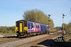 150270  passes Melton Lane on Saturday 25th March 2017 forming the 2R08 15:03 Hull - York.
