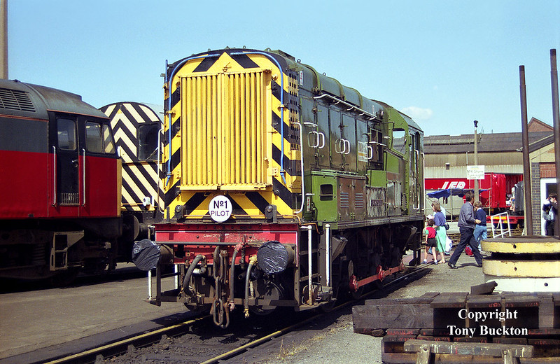 08647 'Crimpsall' Doncaster Works Open Day - 12th July 1992