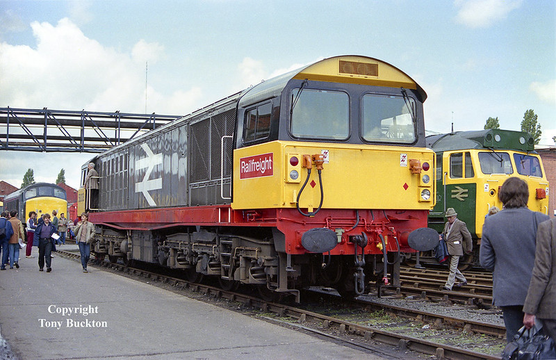 58008 -  Crewe Works Open Day - Saturday 2nd June 1984.
