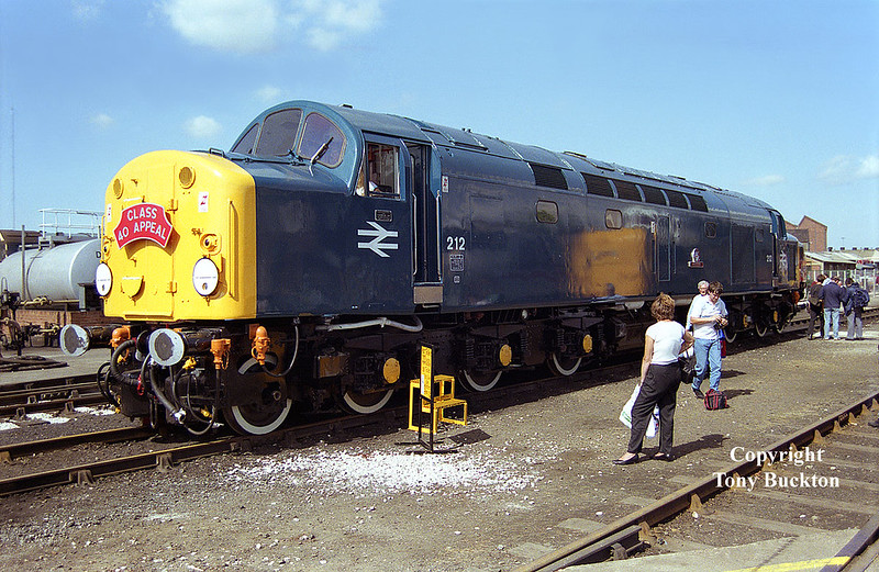212 (40012) Doncaster Works Open Day, July 12th 1992.