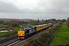 37606 + 37602 1Q13 0733 Laira Depot - Cambridge TMD 1918Radio Survey Train via Water Orton, Nuneaton, Leicester, Peterborough, March, Ely. Rewe 07/12/11