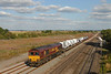 66085 approaches Didcot  East Junction with 6X48 Dagengam Docks ~ Didcot yard cars.