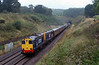 20308/20309 potter out of Whiteball Tunnel on 1Z20 Crewe ~ Kingswear in traditional summer conditions
