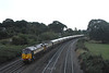 47832 + 47790 on the retimed 1Z22 1908 Paignton ~ Birmingham International storms passed Aller Divergence with the Northern Belle