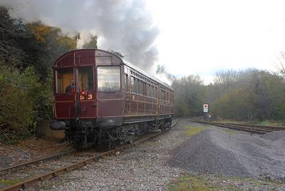 Looe Railmotor November 2012