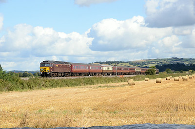 57315 T and T 47804 1Z45 0434 Norwich to Plymouth, Stoke Canon 1051