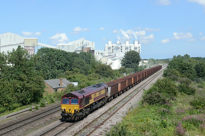 66110 Melton Ross Lime Works,  28/07/14 1357 6T25  1333 IMMINGHAM B.S.C. ORE TML ~ SANTON F.O.T. (14:28)