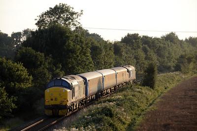 East Anglia Short Set Tractors