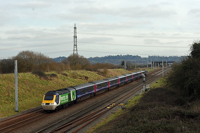 43056 + 43126 1L66 13:28 Swansea to Paddington