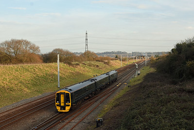 158957 Pilning 1612 1F20 13:23 Portsmouth Harbour to Cardiff Central