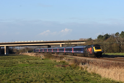 43092 + 43172 Harry Patch 1A87 13:45 Plymouth to Paddington ‎Gissons, Exminster 1441‎