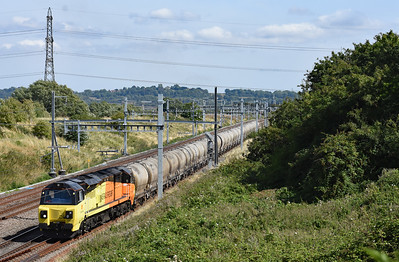 70815 6C36 13:30 Westbury Cement Works to Aberthaw Departed Pilning 1519 