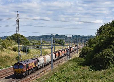 66113 6B35 10:48 Hayes Tarmac to Moreton on Lugg Pilning 1422 