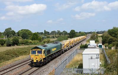 66544 6C73 1212 Westbury Up T.C. to Fairwater Yard Cogload 1329