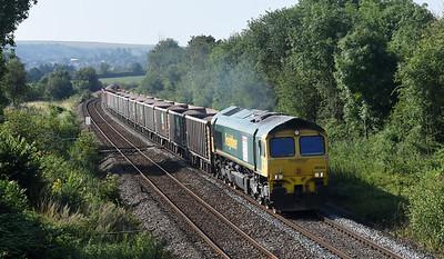 66524   6A60 0832 Whatley Quarry - Oxford Banbury Road via Swindon  Church Road, Heywood 0922