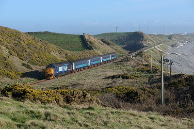 37409 propels the 14.35 Carlisle-Barrow past Nethertown 8/3/17.