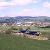Ex-Scotrail 158868 approaches Burneside with the 14:00 Oxenholme-Windermere, 11/4/2019.