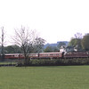 The Easter Lakelander…..<br /> 47826 with 47851 on the rear approach Burneside Lower Crossing with the first trip of the weekend; 09:37 Oxenholme-Windermere, 20/4/2019.