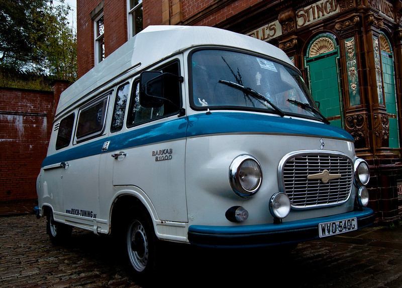 I want a Barkas motorhome! Barkas was the GDR's only manufacturer of light vans and minibuses from its factory in Karl-Mark-Stadt