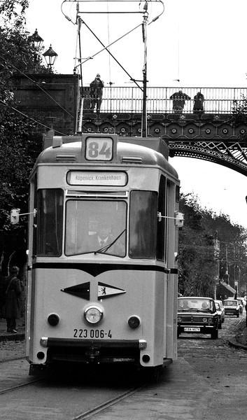 Rush hour in East Berlin