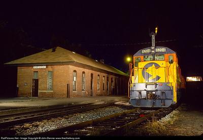 Retired B&O Train Station, Morgantown, WV