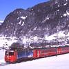 617 returns with  819 10:44 Klosters Dorf to Davos Platz Schittelzug, 7/3/2012.