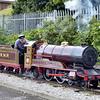 105 'Michael' A Barnes 4-4-2 - Rhyl Miniature Railway 16.07.16