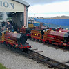 Six Barnes Locomotives - Rhyl Miniature Railway - 29 May 2011