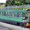 1 Bogie Single Deck Battery Tram  - Rhyl Miniature Railway 16.07.16