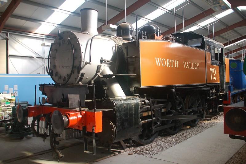 72 (30072) - Ribble Steam Railway - 11 September 2016