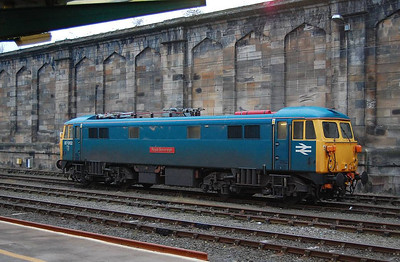 The other electric loco at Carlisle was 87002.