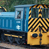 HE 5644 reb HE 7179 D2595 - Ribble Steam Rly - 2 October 2011