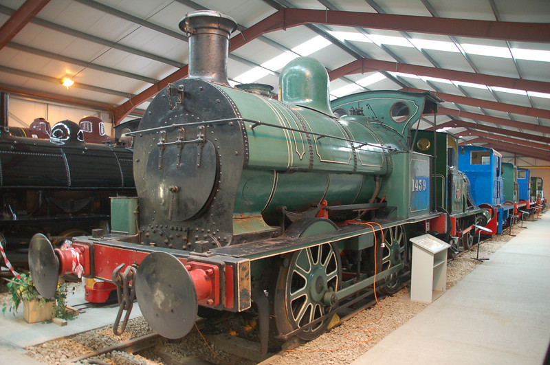 Crewe 842 1439 - Ribble Steam Rly - 2 October 2011
