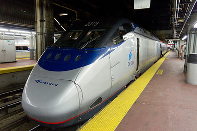 The Acela power units are manufactured by Bombardier and based on the French TGV design.