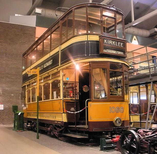 1088 Glasgow Tram - Riverside Museum  Alasdair MacCaluim