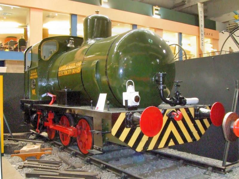 1571 A Barclay 0-6-0F - Glasgow Museum of Transport  March 2007 Hugh Llewellyn