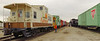 The caboose collection is run together as an excursion consist, usually twice a year.