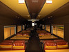 When the pub and dance floor were removed Amtrak converted it into a cafe lounge car.