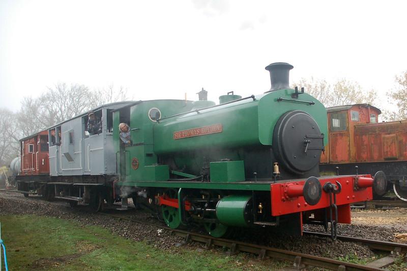 AB 2088 Sir Thomas Royden - Rocks by Rail, Rutland Railway Museum - 16 November 2014