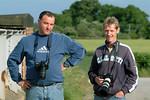 Kev and Woz at Brumber bridge.29/05/2005.