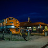 Night at the Canon City depot